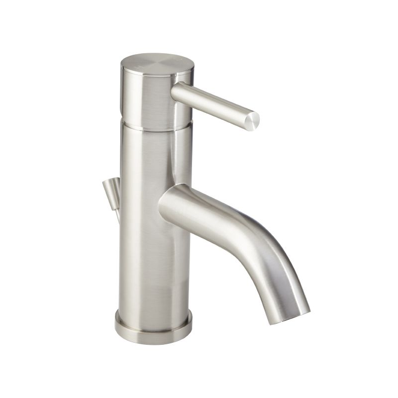 Mirabelle Mirwsed100pbn Brushed Nickel Edenton Single Hole Bathroom Faucet Free Pop Up Drain Embly With Purchase