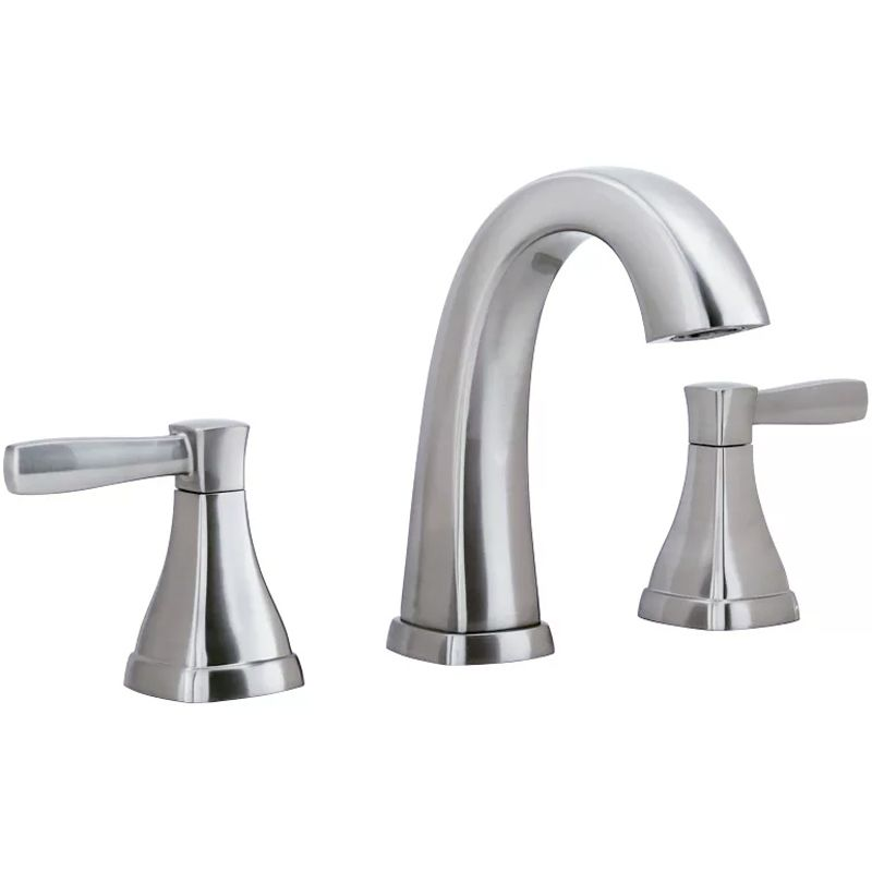 Miseno MNO641CP Polished Chrome Elysa V Widespread Bathroom Faucet With  Solid Brass Push Pop Drain Assembly   FaucetDirect.com