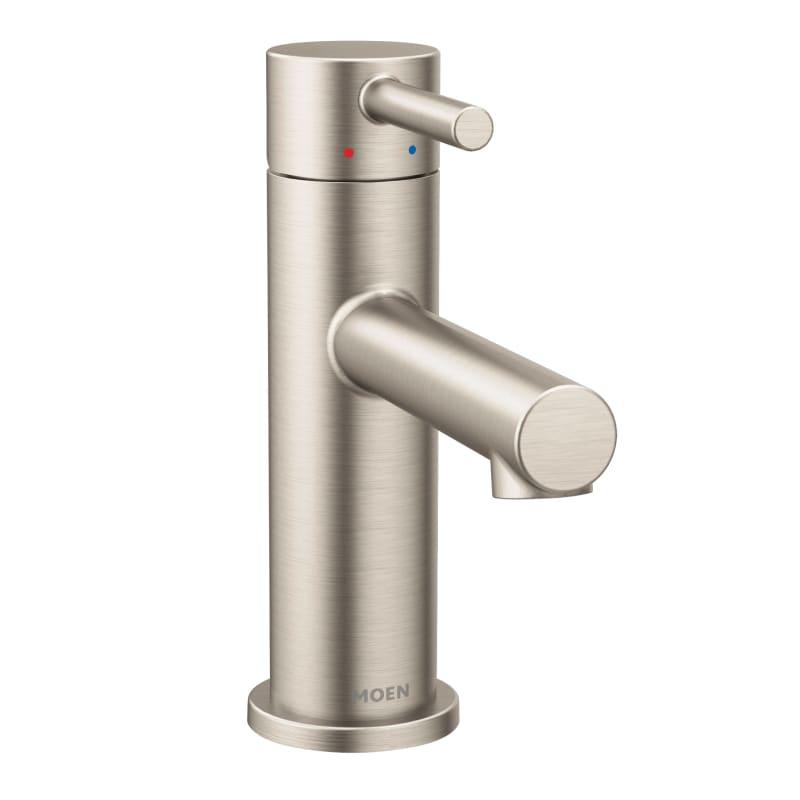 moen shop k bathroom acrylic faucets chrome handle l supply p hd chateau faucet single lavatory