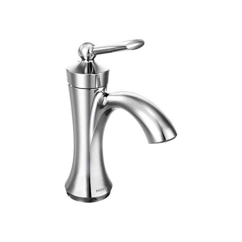 Moen 4500bn Brushed Nickel Wynford Single Hole Bathroom Faucet With