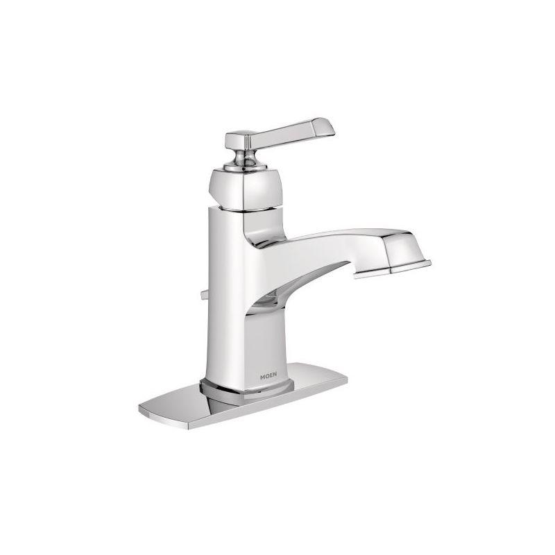 Moen 6200 Chrome Boardwalk Single Hole Bathroom Faucet - Faucet.com