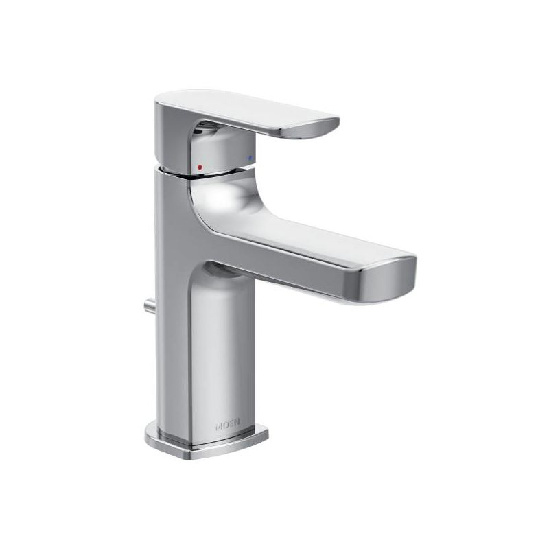 Moen 6900BN Brushed Nickel Rizon Single-Handle Low Arc Bathroom ...