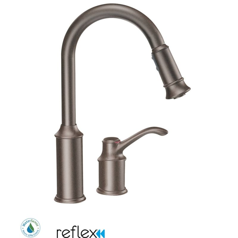 resistreg faucet one dispenser view larger spot with kitchen soap stainless down ca handle pull steel resist faucets nori moen