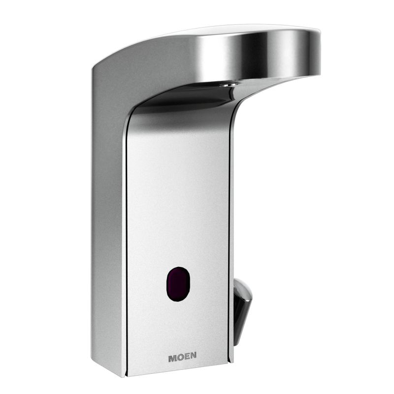 Moen 8552 Chrome Electronic Single Hole Bathroom Faucet With Batteries Included From The M Collection Valve