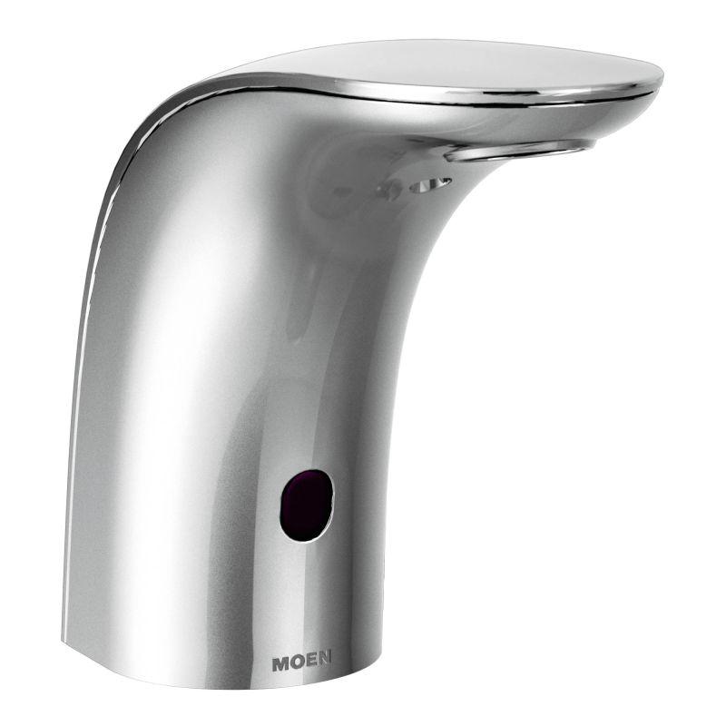 Moen 8553 Chrome Electronic Single Hole Bathroom Faucet with ...