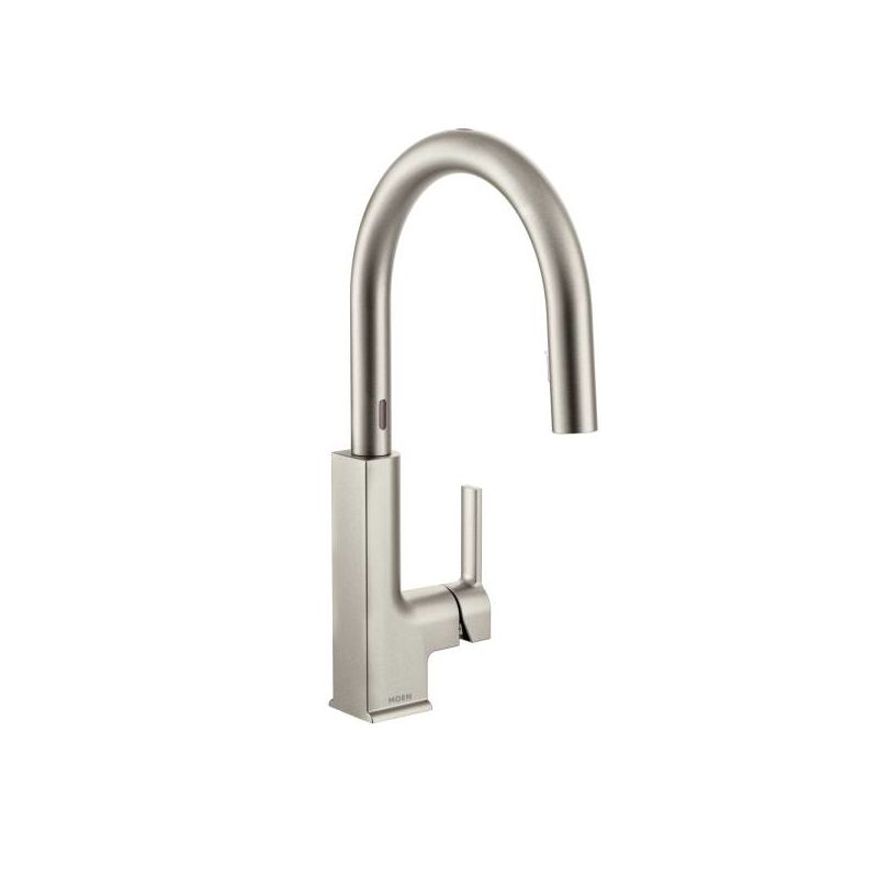 Moen S72308EC Chrome STo Metal Touchless Conceald Pulldown Spray ...
