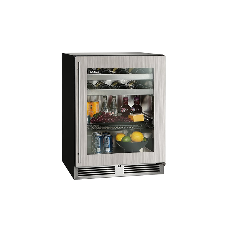 Perlick Beverage Center Refrigerators - HA24BB-3-R