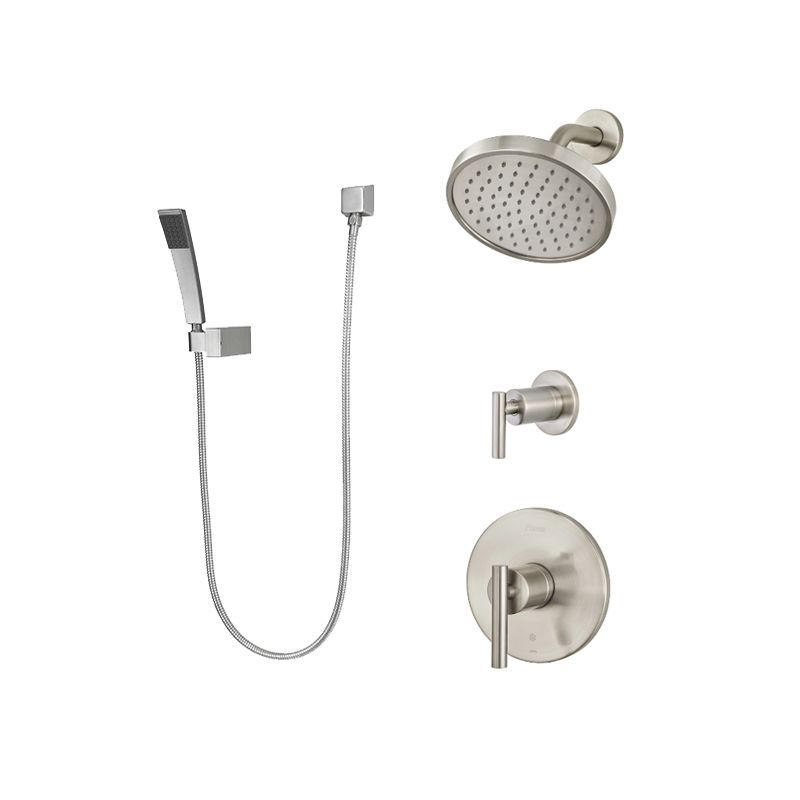 Pfister B89-7NCC Polished Chrome Contempra Shower System with Valve ...