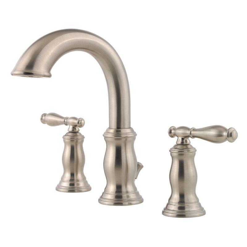 Pfister Lf 049 Tmkk Brushed Nickel Hanover Widespread Bathroom Sink