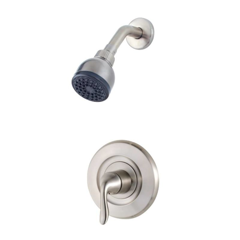 Pfister R90-7MNK Brushed Nickel Shower Trim Package with Multi ...