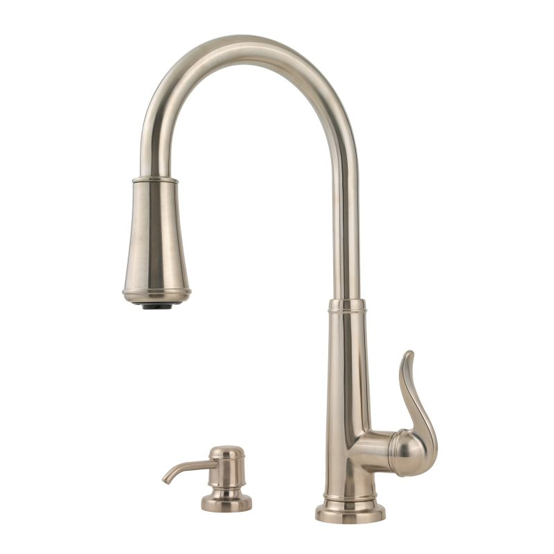 Pfister GT529-YPC Polished Chrome Ashfield 2 Function Pullout Spray ...