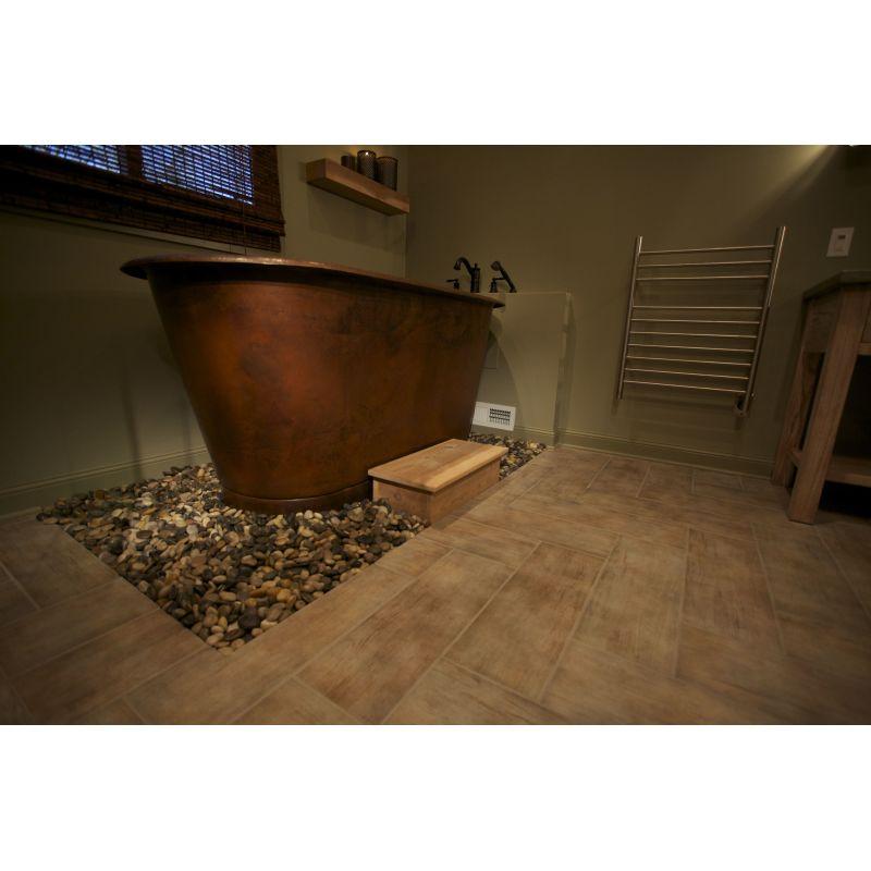 Premier Copper Products BTM72DB Oil Rubbed Bronze Soaker Bathtub ...