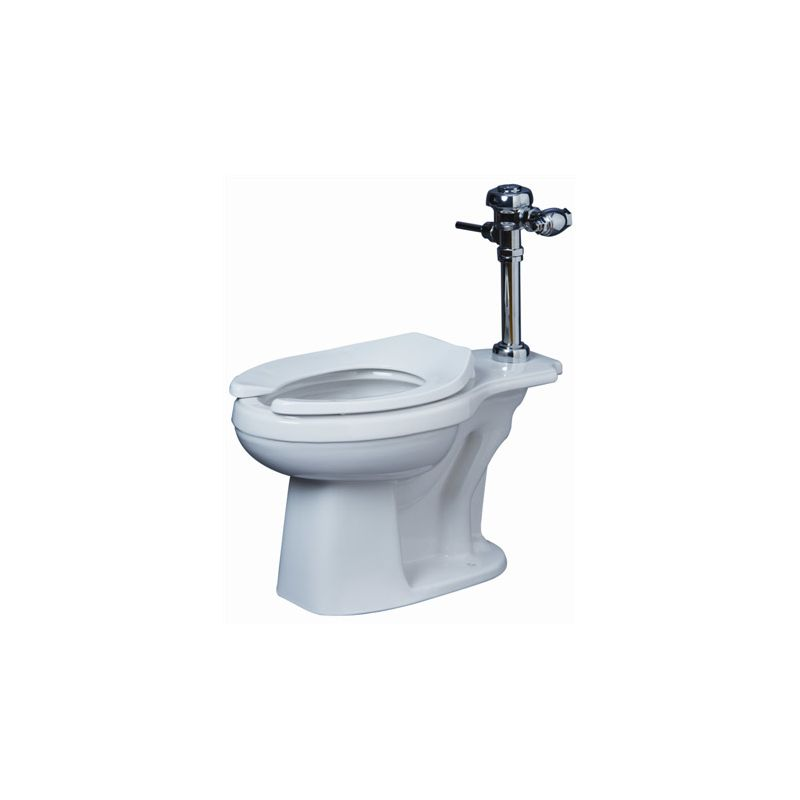 ProFlo PF1723WH White High Efficiency Elongated Toilet Bowl Only ...