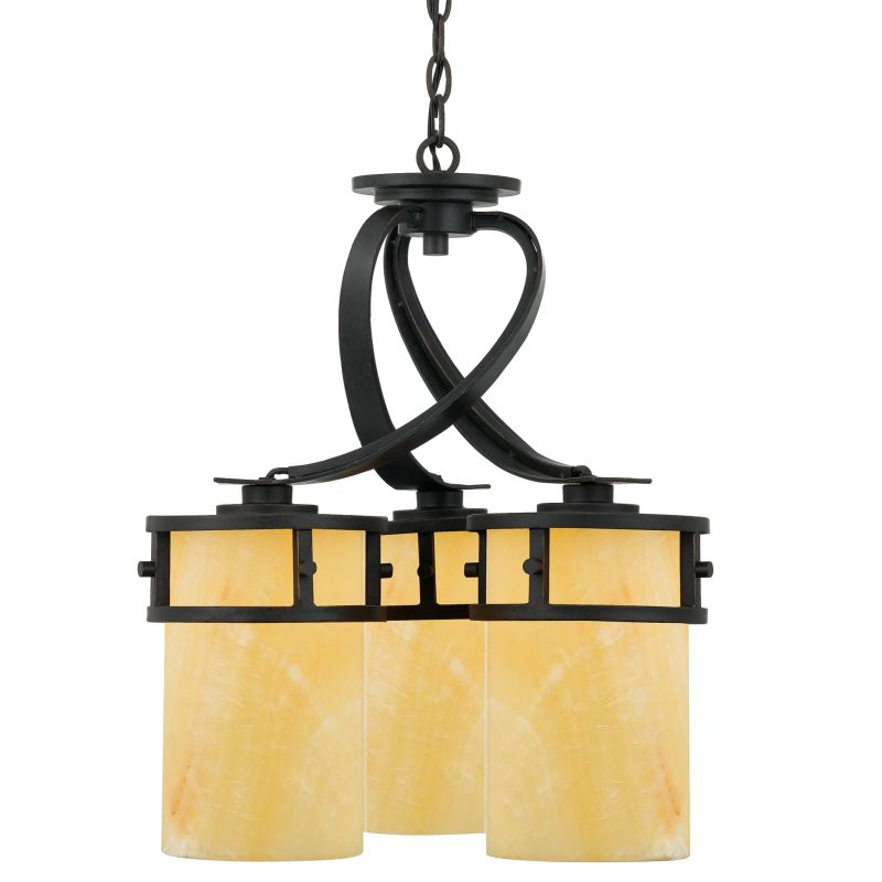 Quoizel ky5103ib imperial bronze kyle 3 light 20 wide chandelier quoizel ky5103ib imperial bronze kyle 3 light 20 wide chandelier with onyx pillar candle shades lightingdirect aloadofball Image collections