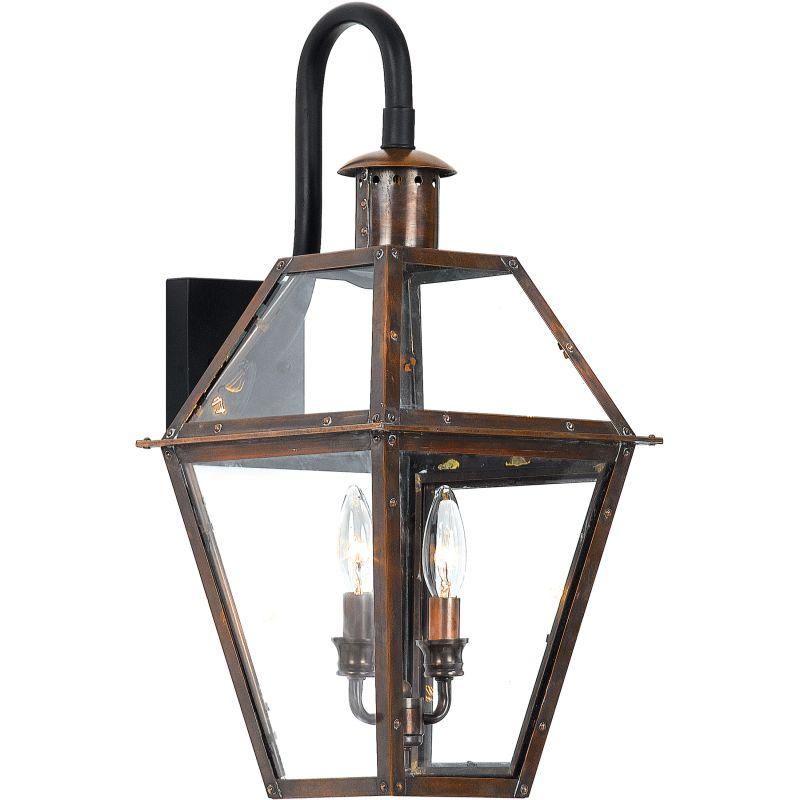 Quoizel Ro8411ac Aged Copper Rue De Royal 2 Light 22 Tall Outdoor