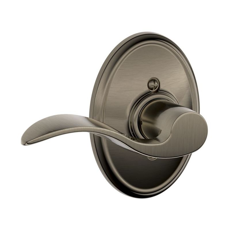 Schlage Lock Company F170ACC625WKFLH Single Dummy Accent Door Lever with the Decorative Wakefield