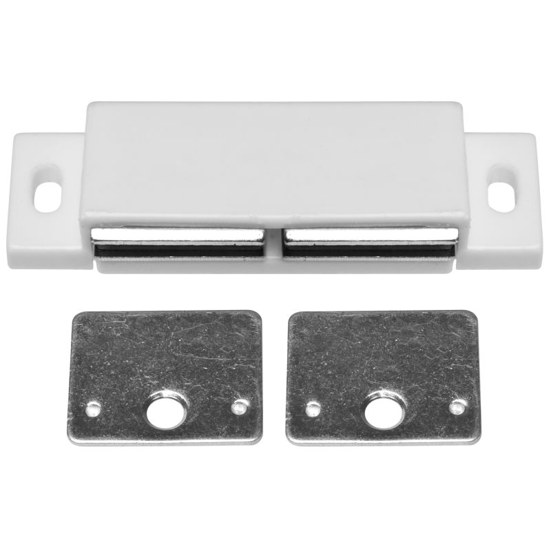 Stanley Home Designs BB8174 N/A 3 Inch Double Magnetic Cabinet Catch    PullsDirect.com