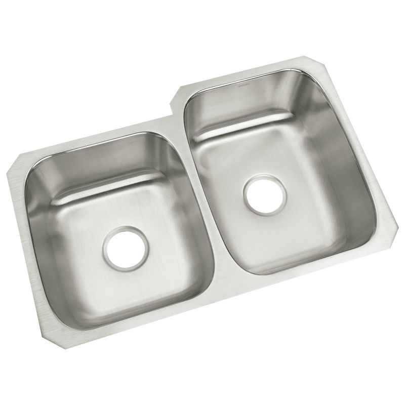 Sterling 11409 l na stainless steel 31 34 double basin undermount sterling 11409 l na stainless steel 31 34 double basin undermount stainless steel kitchen sink with silentshieldreg faucet workwithnaturefo
