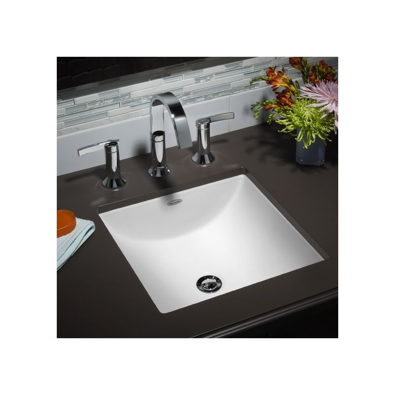 American Standard White Studio Undermount Bathroom - American standard undermount bathroom sinks
