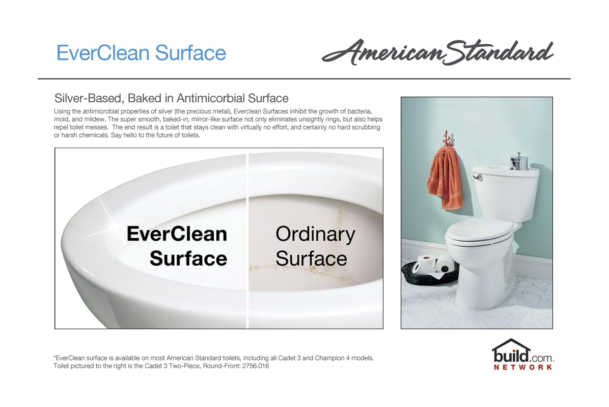 American Standard 2383.010.020 White Cadet 3 Elongated Two-Piece ...