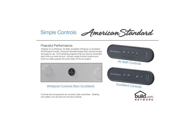 American Standard 2425.VC-RHO.222 Linen Evolution 60\