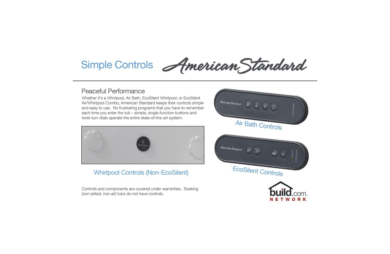 American Standard 2776.118W.210 Loganberry Cadet 59-7/8\