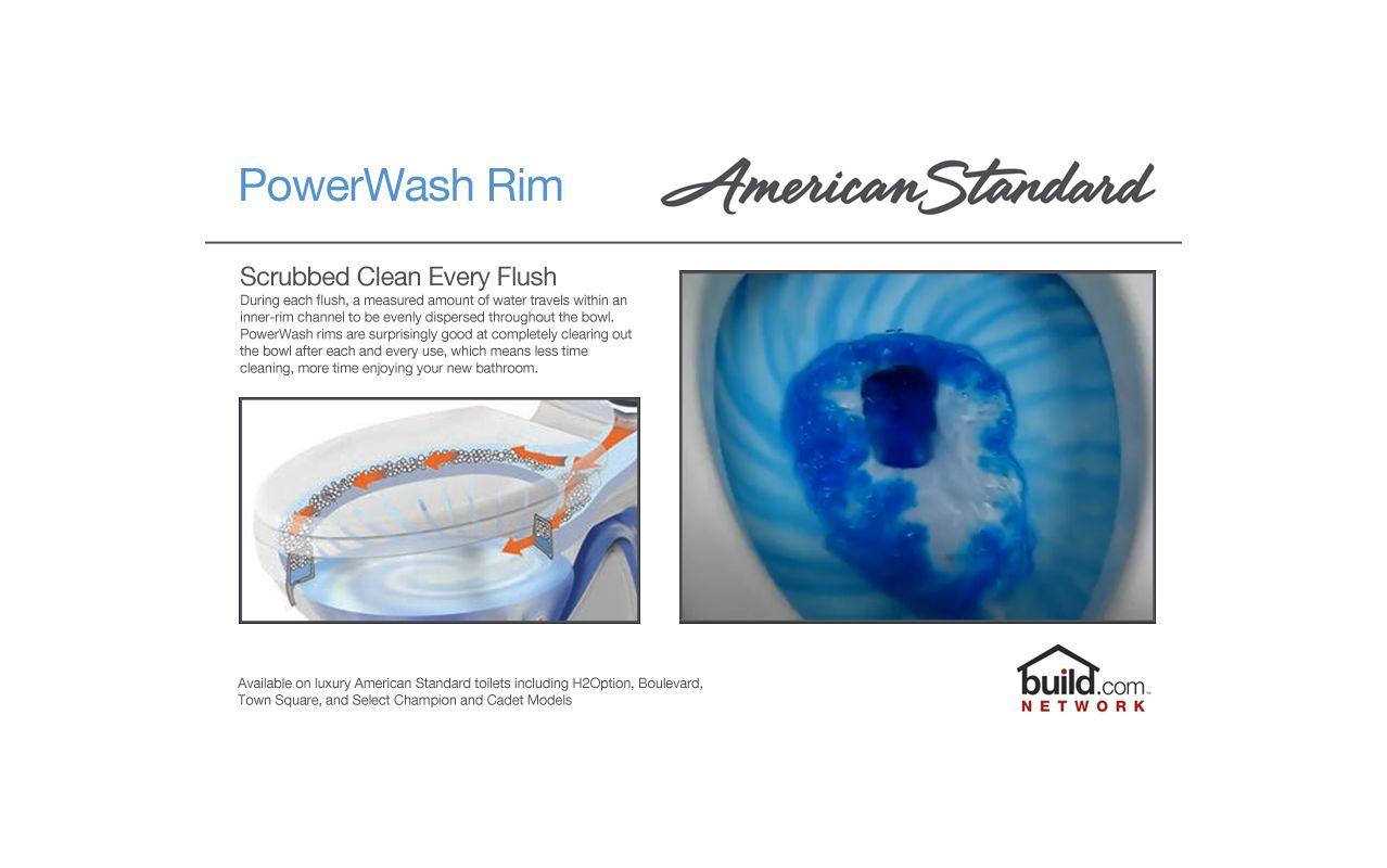 American Standard 3517C.101.020 White Cadet Pro Elongated Toilet ...