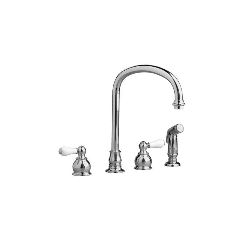 American Standard 4751.732.002 Chrome Hampton Kitchen Faucet with ...