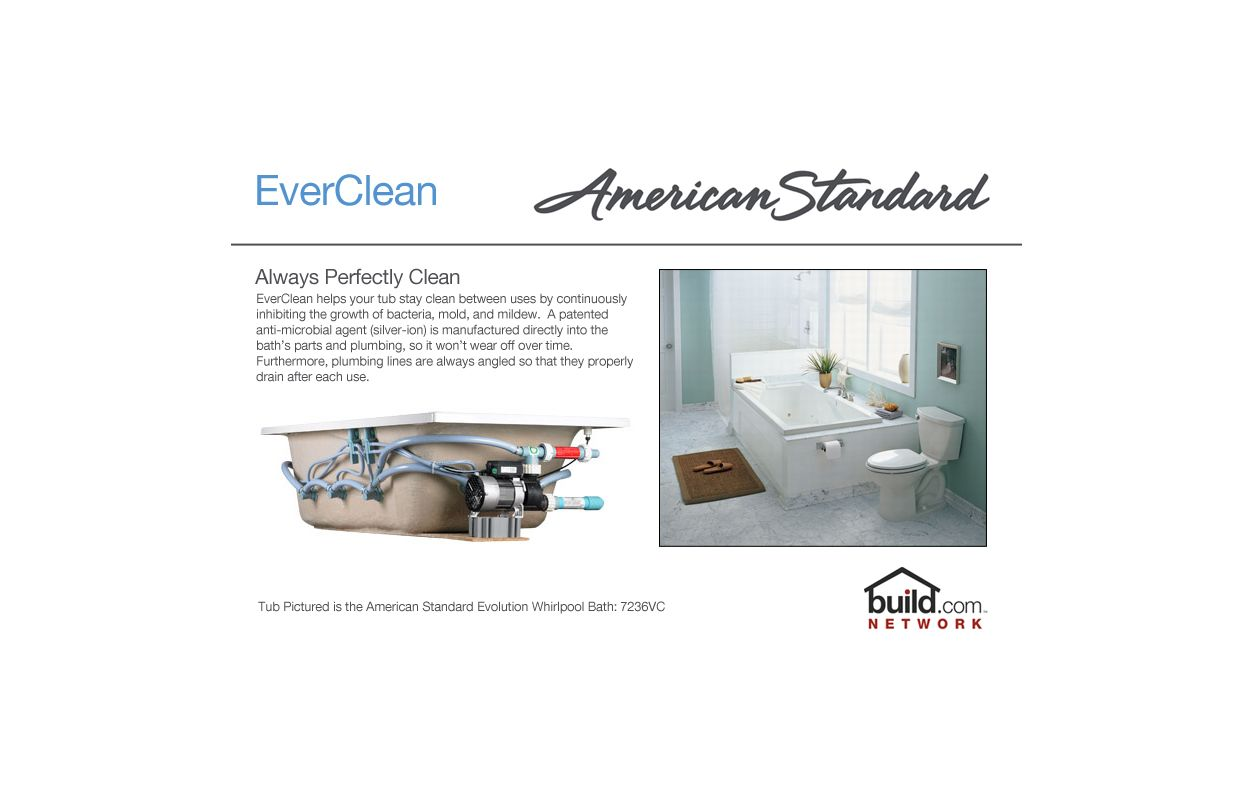 American Standard 7236.VC.020 White Evolution 72\