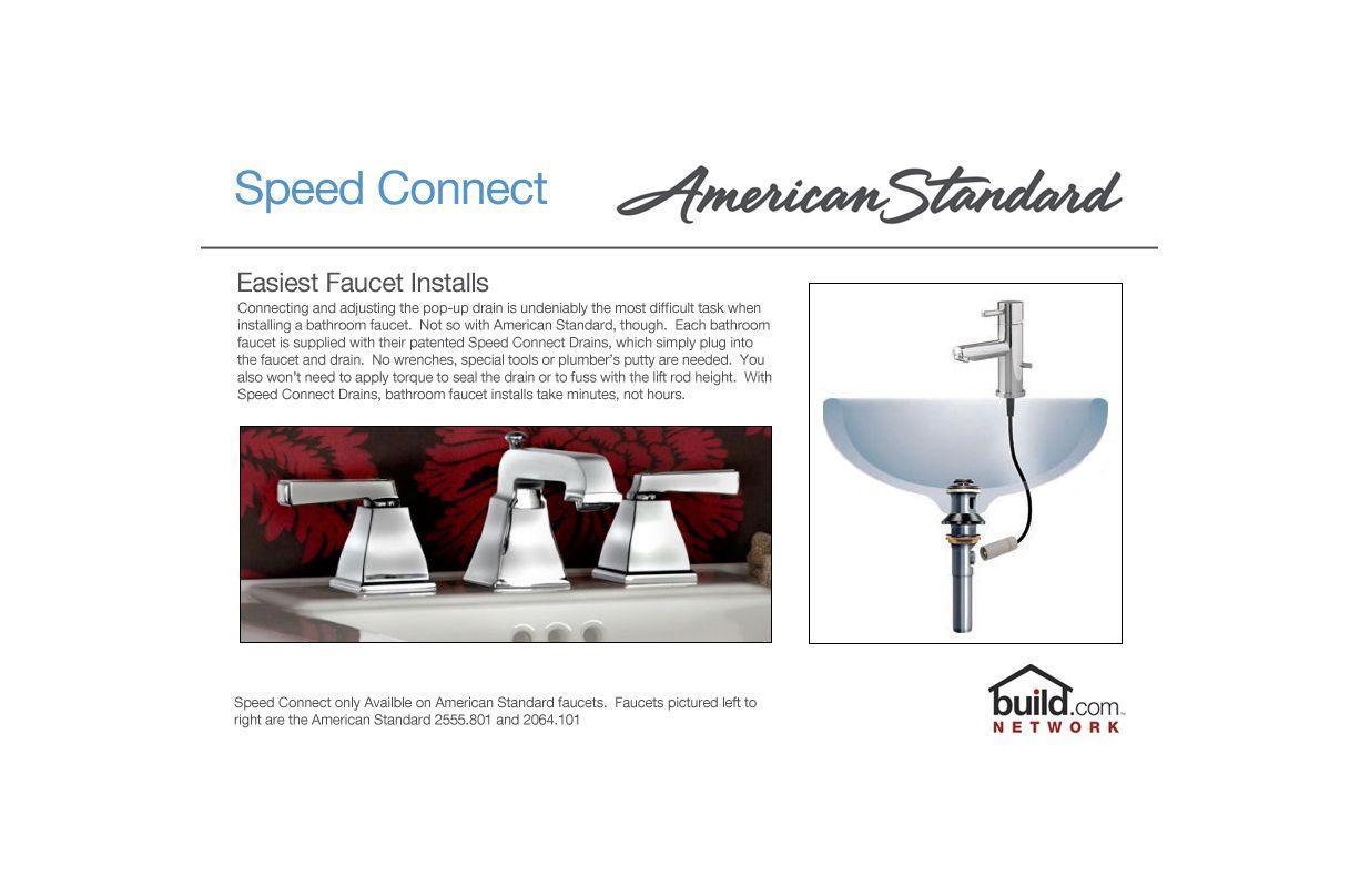 American Standard 7411.712.002 Polished Chrome Hampton Centerset ...