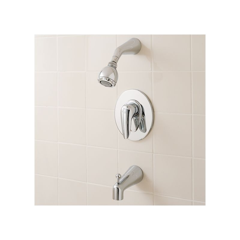 American Standard T000 502 246 Satin Brass Ceramix Tub And Shower
