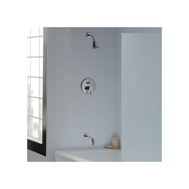 American Standard T064.602.002 Chrome Serin Tub and Shower Trim ...