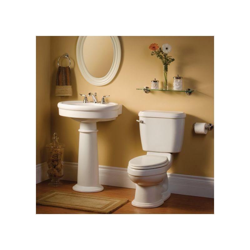 American Standard 0283800020 White 26 34 Pedestal Bathroom Sink