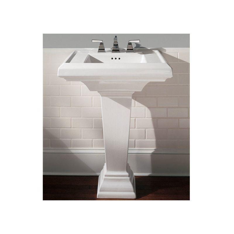 American Standard 0790.800.020 White Town Square Pedestal Bathroom ...