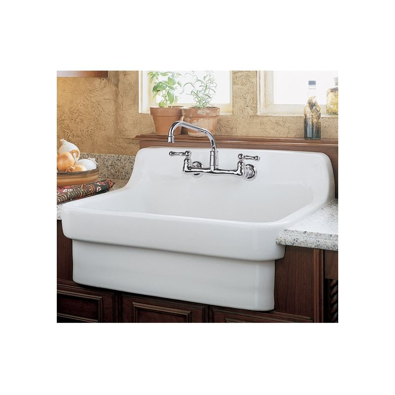 American Standard 9062 008 020 White Country 30 Single Basin