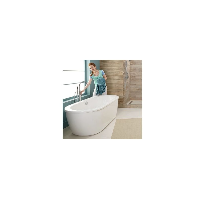 American Standard 2764.014M203.011 Arctic White with Satin Nickel ...