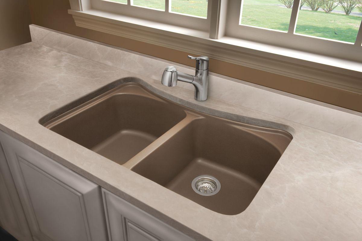 Blanco Granite Kitchen Sink Blanco 446002 Anthracite Equal Double Basin Silgranit Kitchen Sink