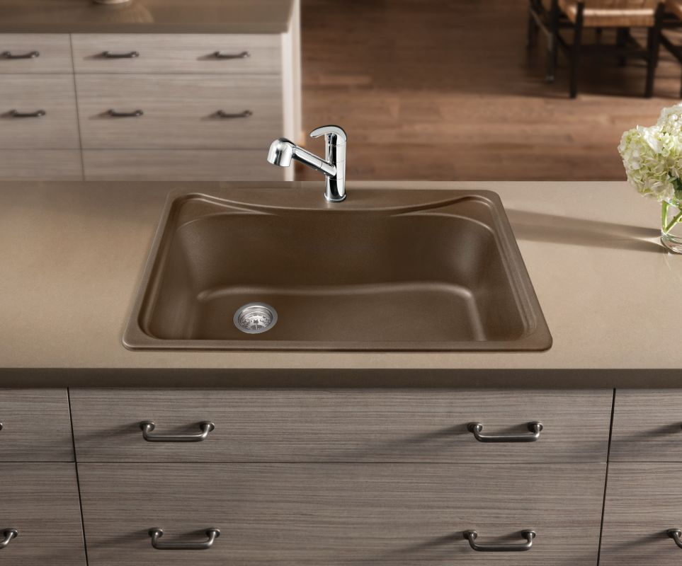 Beau Blanco 446004 Anthracite Single Basin Silgranit Kitchen Sink In Anthracite    Faucet.com