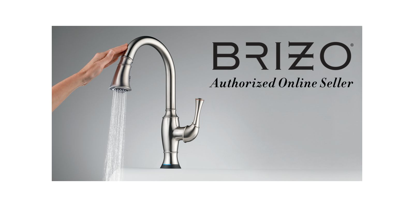 Brizo 63500-PC Polished Chrome Kitchen Faucet Single Handle Pull ...