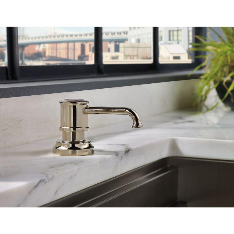 Brizo Rp75675pc Chrome Artesso 13 Oz Soap Lotion Dispenser Faucet