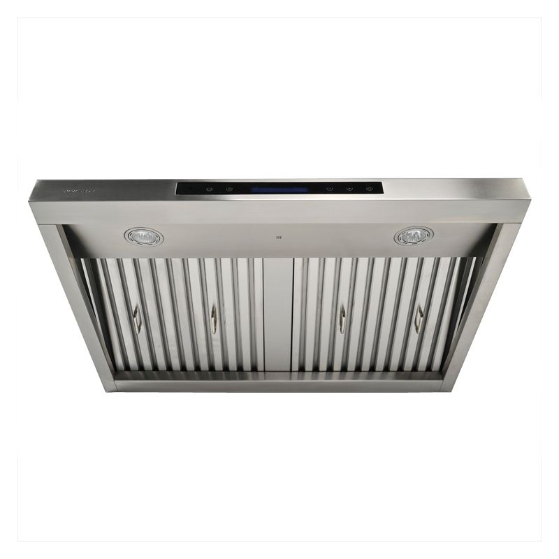 Cavaliere Euro AP238 PS37 30 Stainless Steel 30 Inch 900 CFM Stainless  Steel Under Cabinet Range Hood With Remote From The AirPRO Collection ...