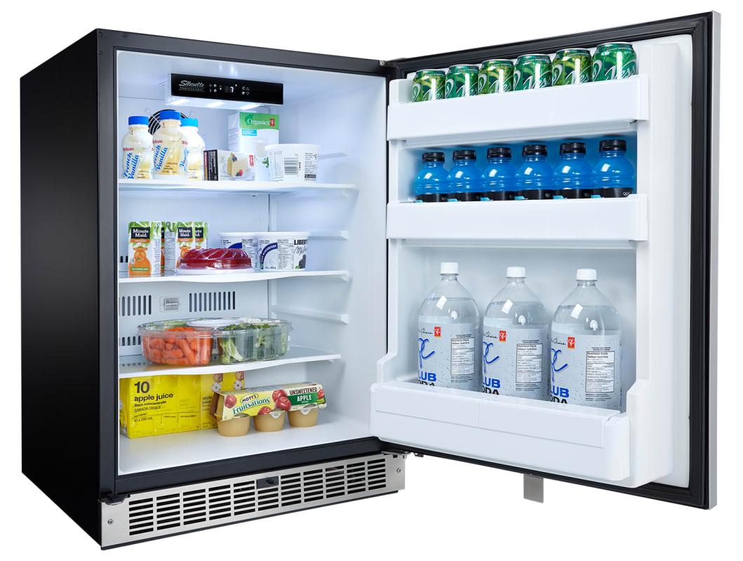 Danby 5.5 Cu. Ft. Built-In Energy Star Refrigerator - DAR055D1BSSPR
