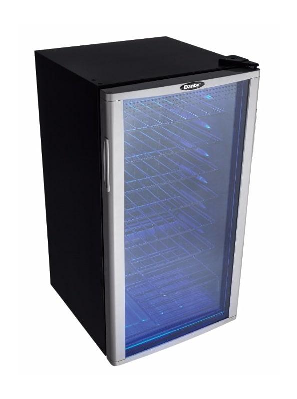 Danby Dwc350blpa Free Standing Wine Cooler With Glass Door