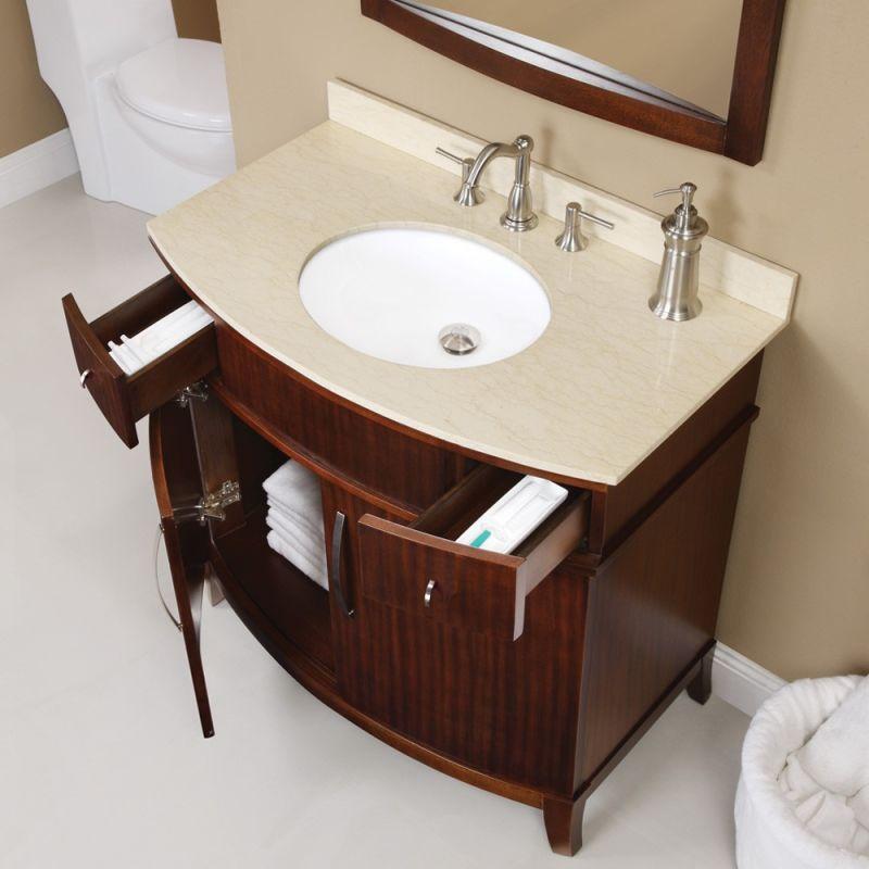 Bathroom Vanities Curved Front Vanity