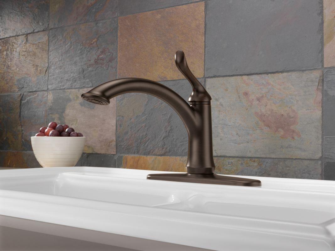 pull kitchen with faucet delta extendn down tif dst soap kate handle sd single details linden dispenser