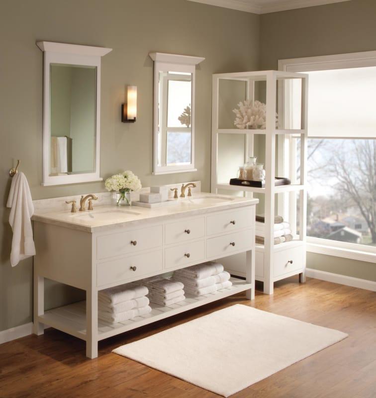 Delta 3594-CZMPU-DST Champagne Bronze Linden Widespread Bathroom ...