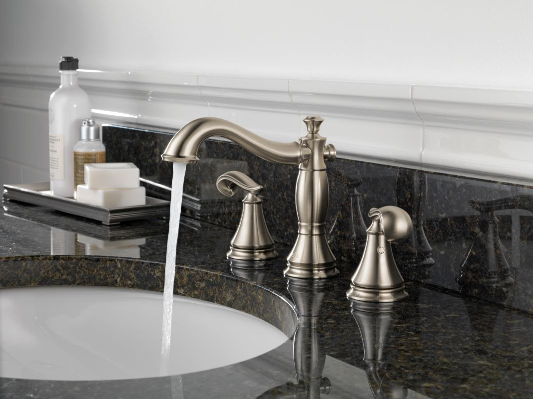 Delta 3597lf Rbmpu Lhp Venetian Bronze Cidy Widespread Bathroom Faucet With Pop Up Drain Embly Handles Sold Separately Includes Lifetime Warranty