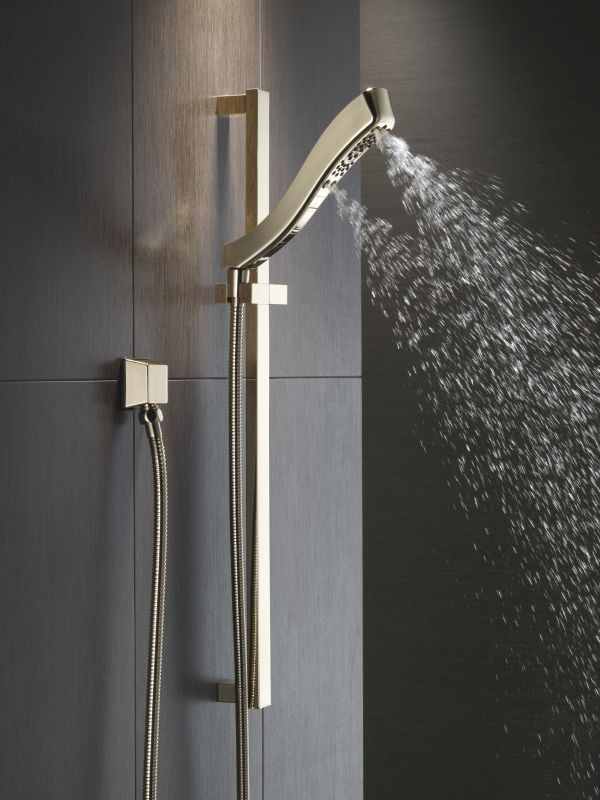 Delta 51552-SS Brilliance Stainless 1.75 GPM Hand Shower Package ...