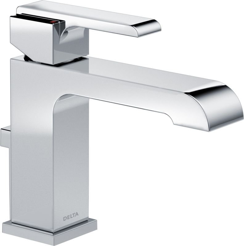 Delta 567lf Mpu Chrome Ara 12 Gpm Single Hole Bathroom Faucet