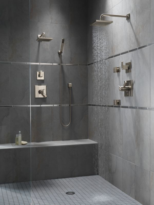 polished trim head volume monitor systems delta with brilliance less pn tesla in balanced stainless valve system shower running rough nickel pressure control technology and